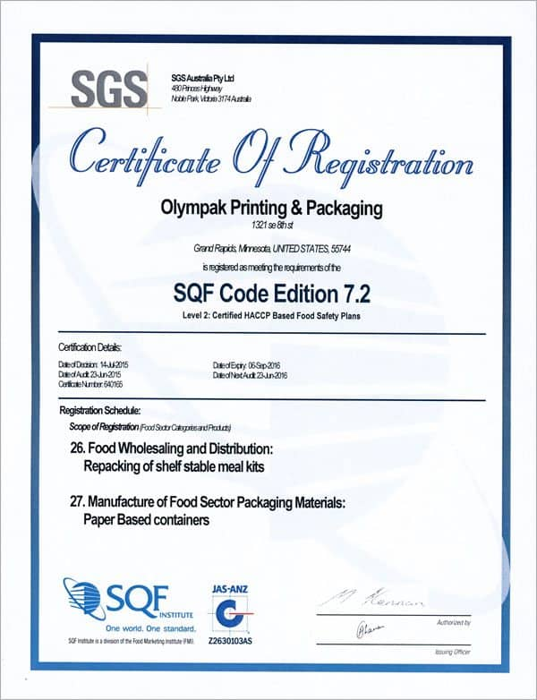 minmor-sqf-level-3-certification